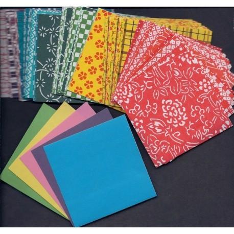 Origami Paper Metallic Color - 150 mm - 5 sh - Bulk Buy | 458x458